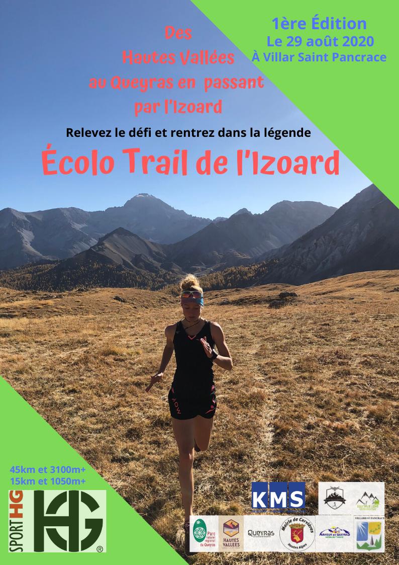Affiche Ecolo Trail Izoard
