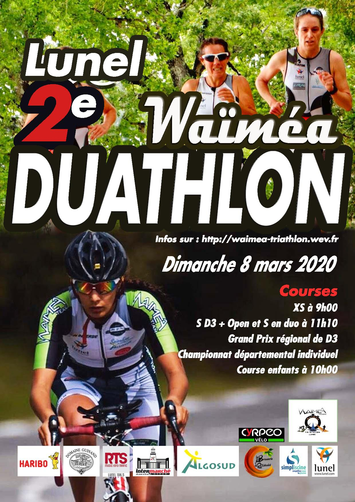 Duathlon de Lunel - Distance Sprint Open
