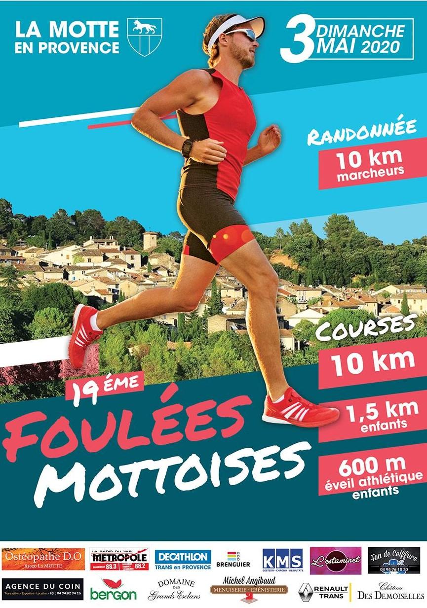 Les Foulees Mottoises - Course 10km