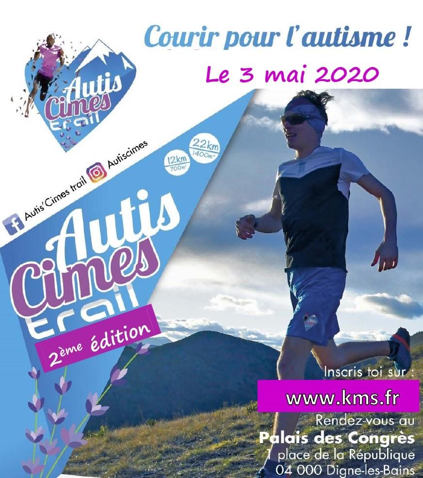 Affiche Autis'cimes Trail