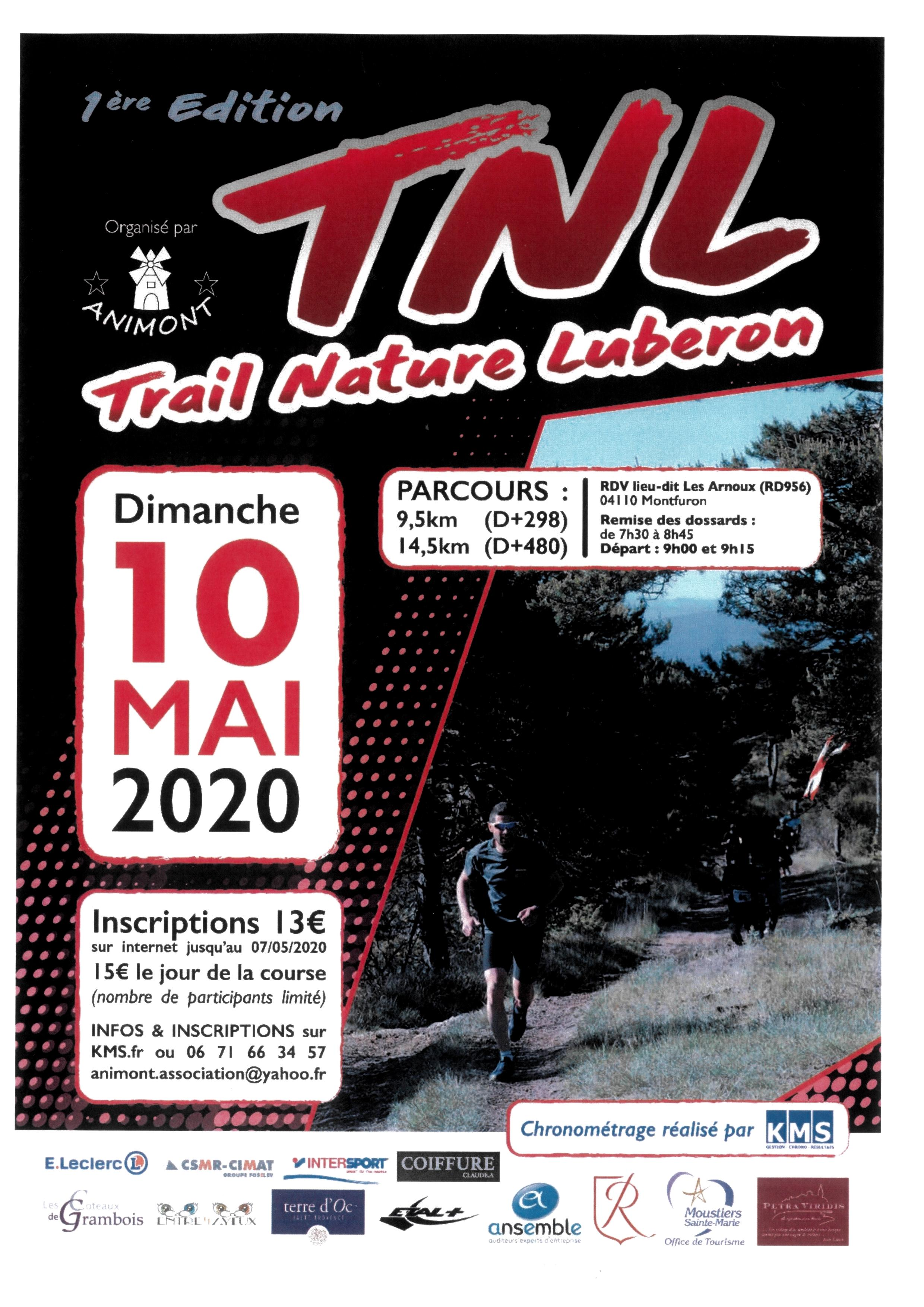 Affiche Trail Nature Luberon