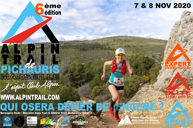 Affiche Alpin Trail de Pichauris 2020