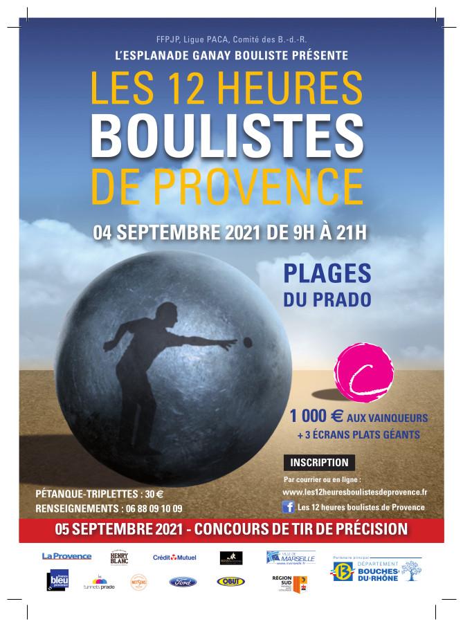 Les 12 heures boulistes de Provence