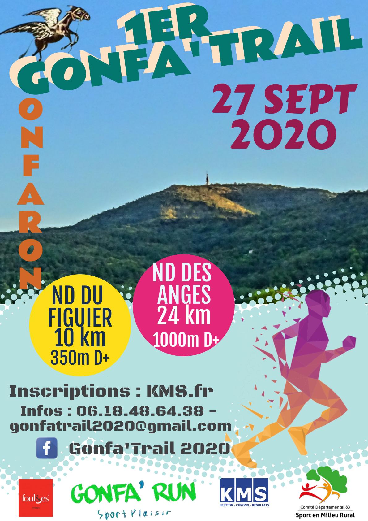 Affiche GONFA TRAIL