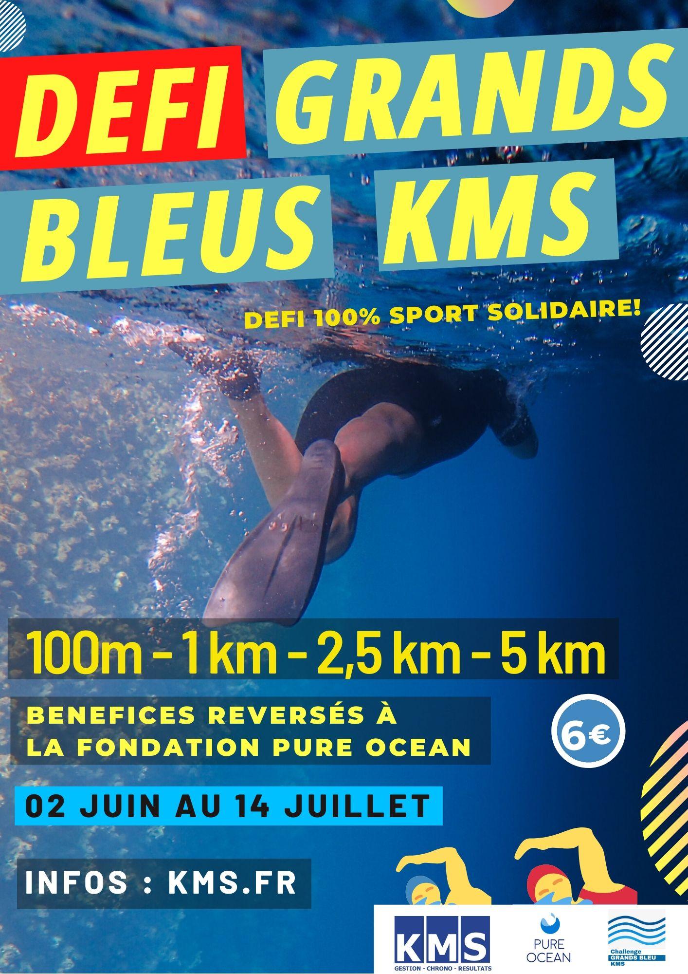 Affiche Défi Grands Bleus KMS