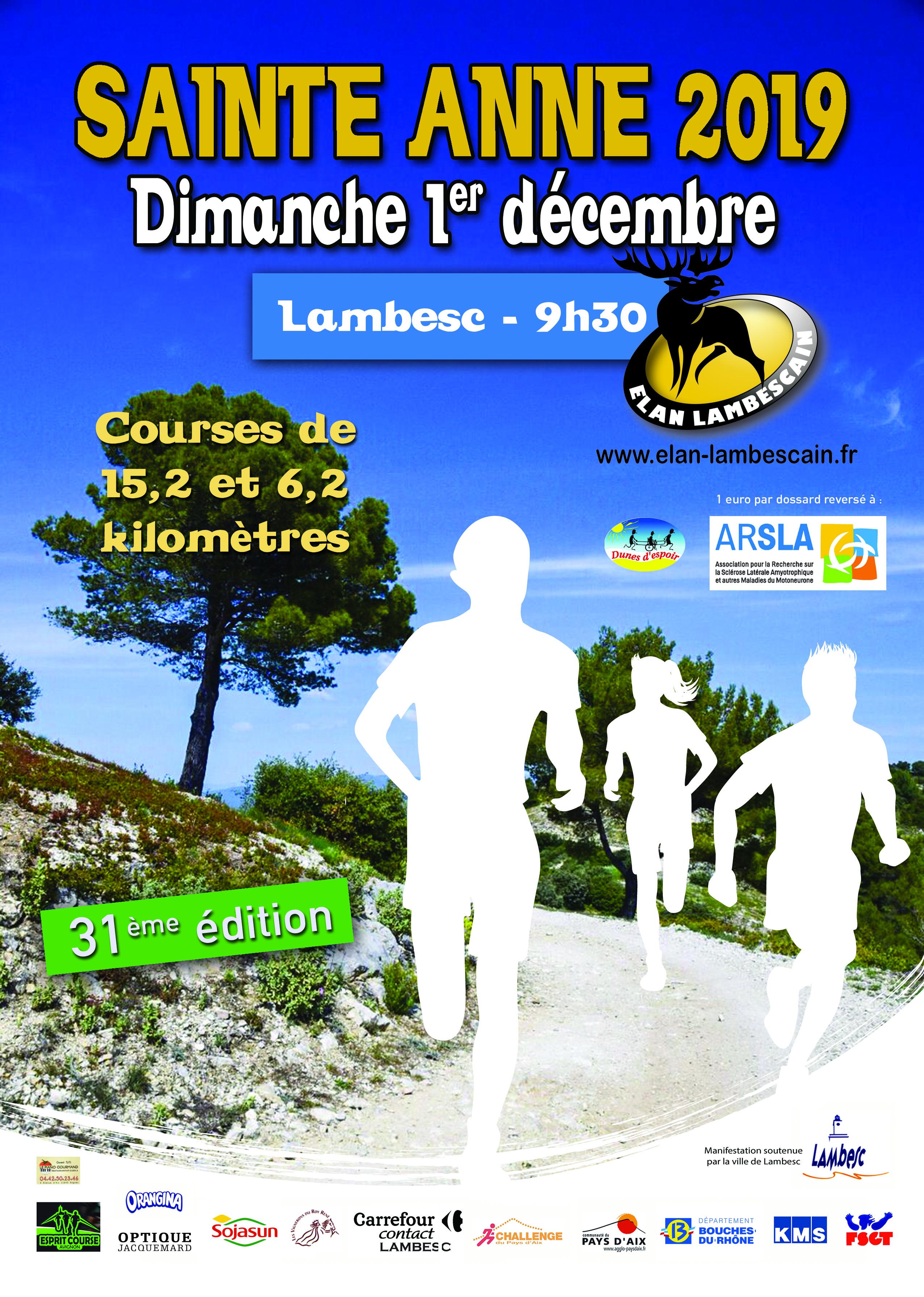 Montee saint Anne -15.2 km