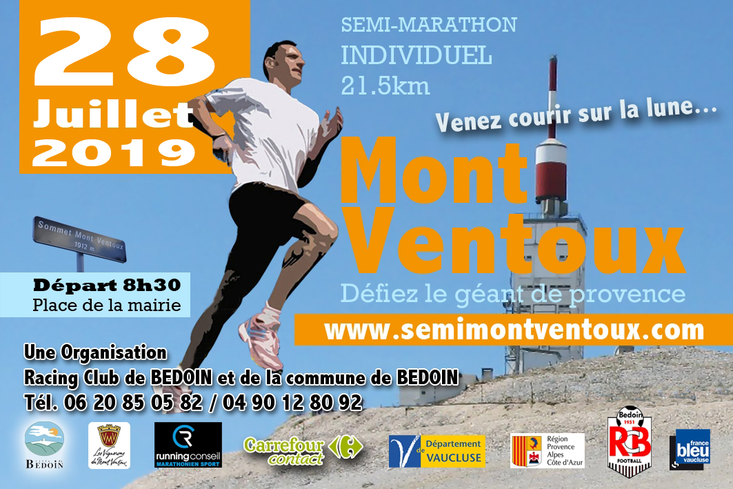 Semi marathon du Ventoux 21.5 km